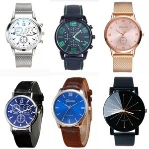 Brand New Men's Watches, various styles.